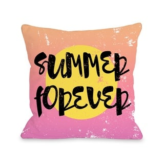 Summer Forever - Multi  Pillow by OBC