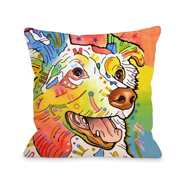 Dakota 18x18 Pillow by Dean Russo