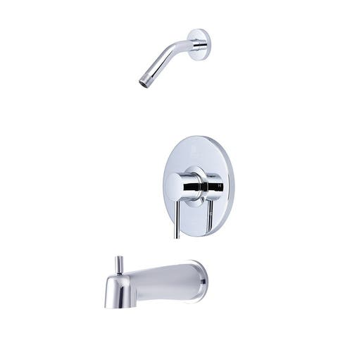 Single Handle Tub and Shower Trim Set-4MT111T-LS