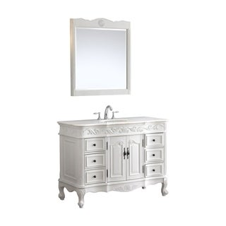 Modetti Buckingham 48-inch Single Bathroom Vanity with Top