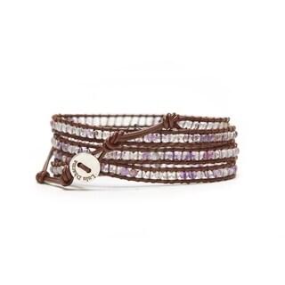 Alchemy Jewelry FLOURITE MINI-BEADED 4 WRAP BRACELET