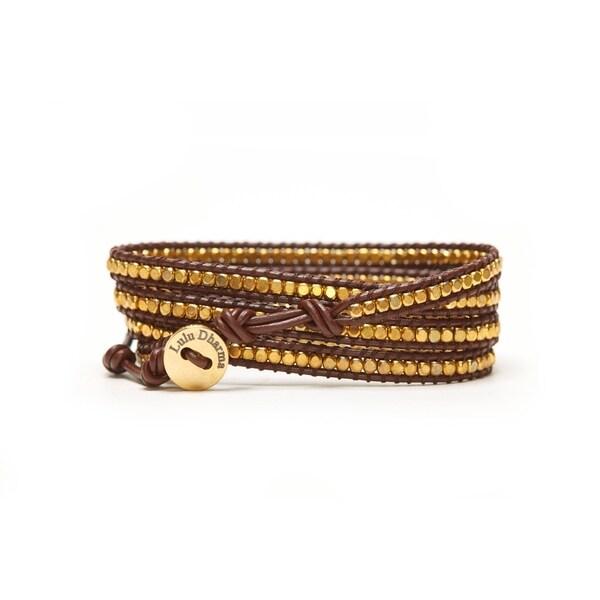 le prix reste stable profiter de gros rabais joli design Alchemy Jewelry GOLD MINI-BEADED 4 WRAP BRACELET