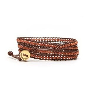 Alchemy Jewelry SUNSTONE MINI-BEADED 4 WRAP BRACELET