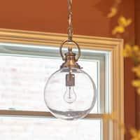 Clifton Glass Globe Pendant