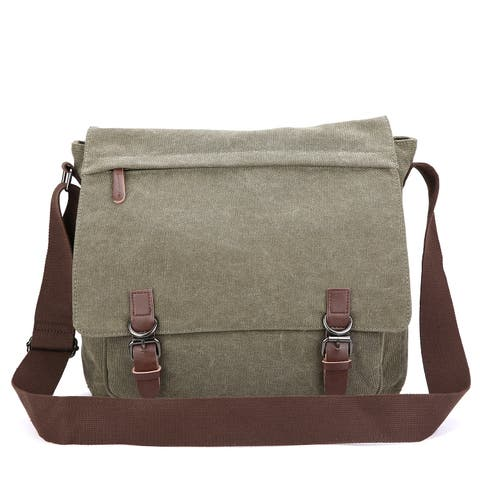 c2b3e05e827 Canvas Messenger Bags | Find Great Bags Deals Shopping at Overstock