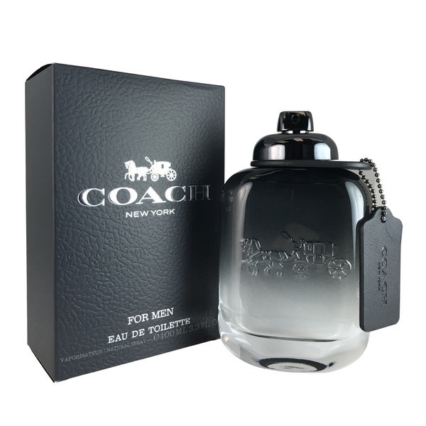 Coach New York Men's 3.4-ounce Eau de Toilette Spray - N/A