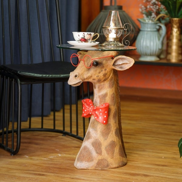 Fashionable Giraffe Tea Table