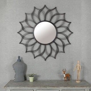 Sunflower Mirror Wall Decor