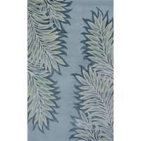 Bob Mackie Home Ice Folia Rug