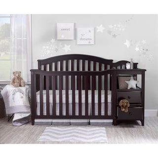Shop Logan Jamocha 4 In 1 Convertible Crib Free Shipping
