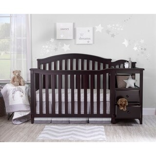Sorelle Berkley 4 in 1 Crib & Changer - Espresso