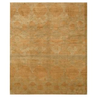Handmade One-of-a-Kind Tibetan Wool Rug (India) - 8' x 10'
