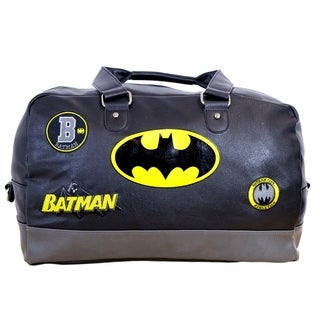 The Batman Fanboy Duffel Bag, Embroidered Accent Patches