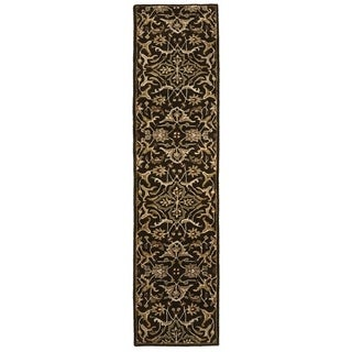 "Artist's Loom Aston Collection Hand-Tufted Floral Pattern Transitional Wool Rug - 2'3"" x 10'"
