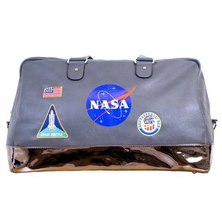 NASA Lifestyle Duffel Bag, Embroidered Accent Patches