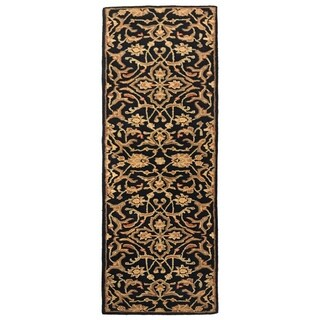 "Artist's Loom Astil Collection Hand-Tufted Floral Pattern Transitional Wool Rug - 2'3"" x 14'"