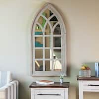 Cathedral Window Wall Mirror - A