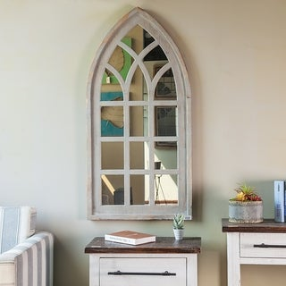 Cathedral Window Wall Mirror