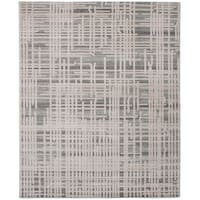 ECARPETGALLERY Power Loomed Bardot Beige, Dark Grey Polypropylene Rug - 8'0 x 10'0