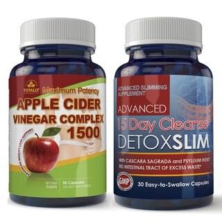 Apple Cider 1500 and Detox Slim Combo Pack