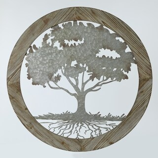 Circular Tree Wall Decor