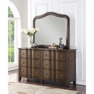 Abbyson Andre Brown 5 Drawer Dresser