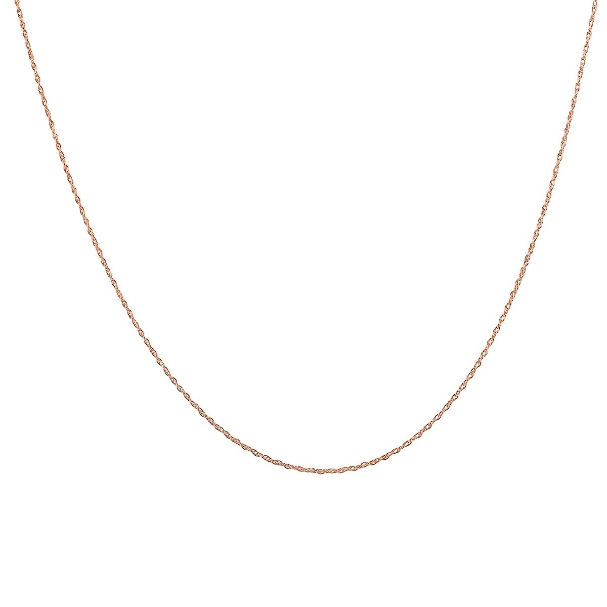 27 Inch 14K Gold Filled Cable Chain Necklace W// Spring Clasp and Closed Rings