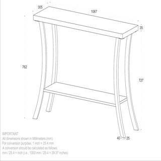 Surin-Solid Wood Console Table