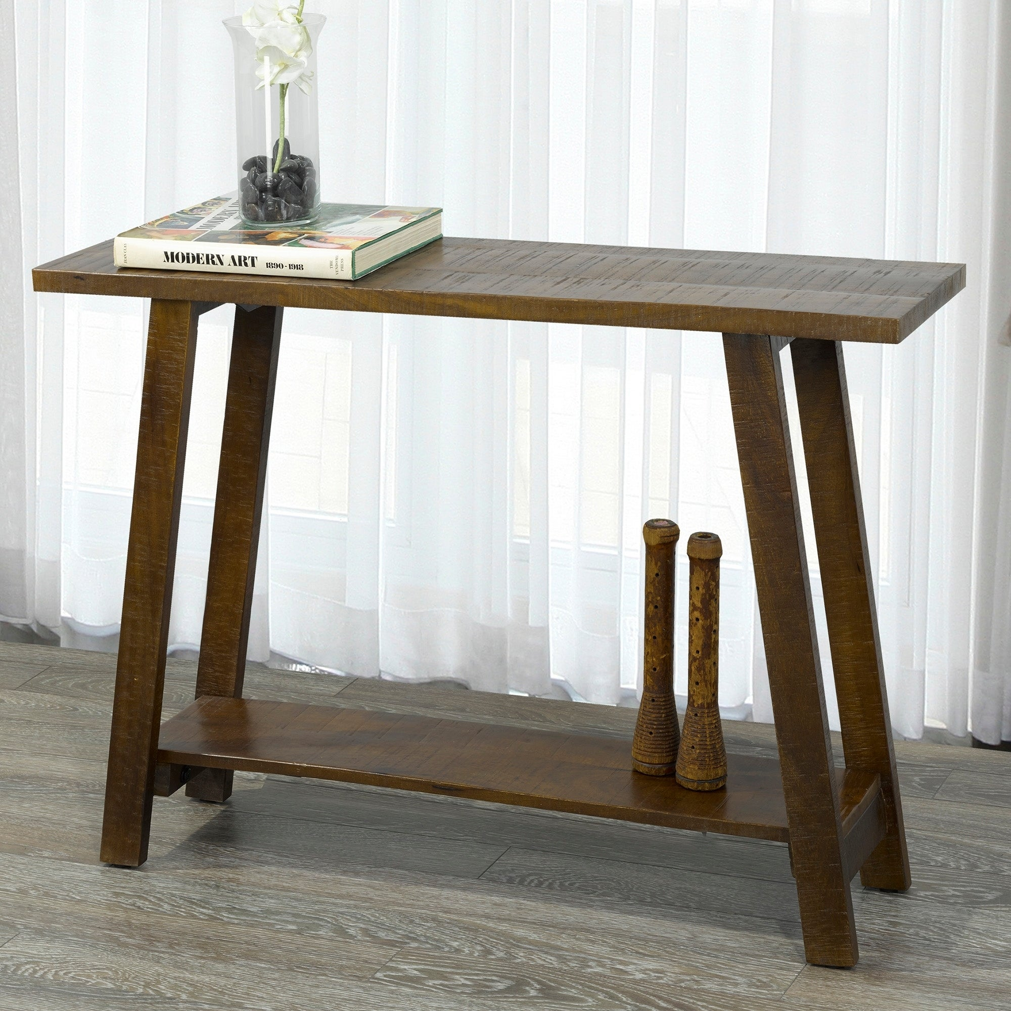 Volsa Solid Wood Console Table