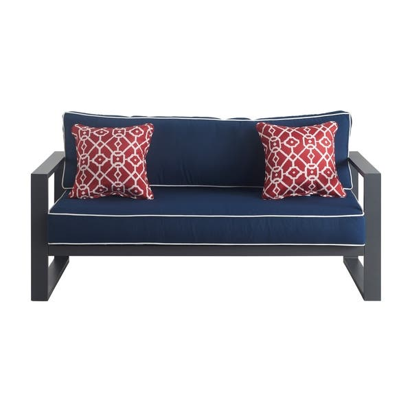 Groovy Shop Tommy Hilfiger Monterey Outdoor Sofa Gray Gunmetal Caraccident5 Cool Chair Designs And Ideas Caraccident5Info