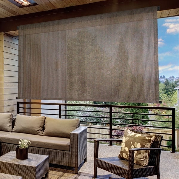 Shop Keystone Fabrics Outdoor Sun Shade With Pole Operated
