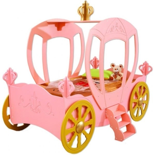 Princess Carriage Toddler Car Bed