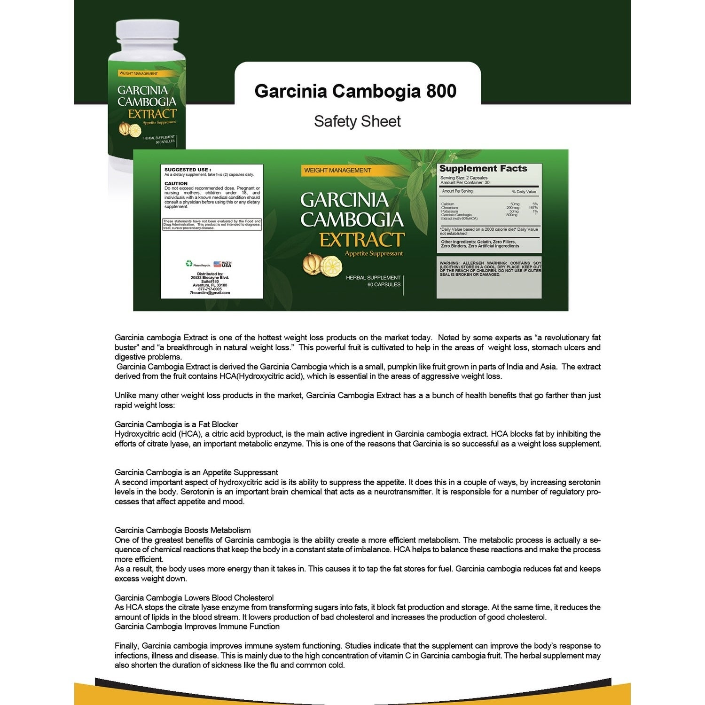 Shop Garcinia Cambogia 800mg And Turmeric Extract Combo Pack