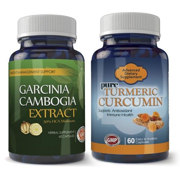 Shop Garcinia Cambogia 800mg And Turmeric Extract Combo Pack Free