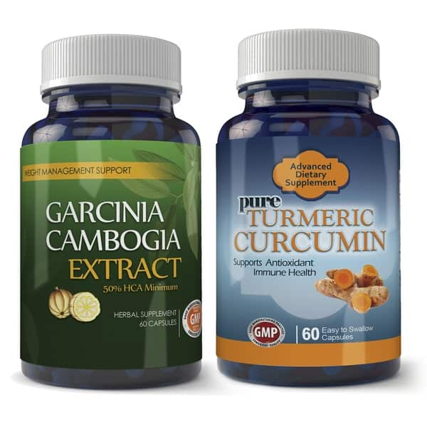 Shop Garcinia Cambogia 800mg And Turmeric Extract Combo Pack