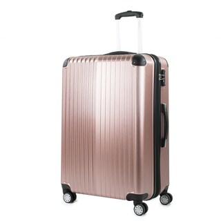 AGT Melrose 25-inch TSA Lock Expandable Spinner Suitcase