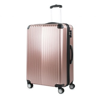 AGT Melrose 25-inch TSA Lock Expandable Spinner Suitcase