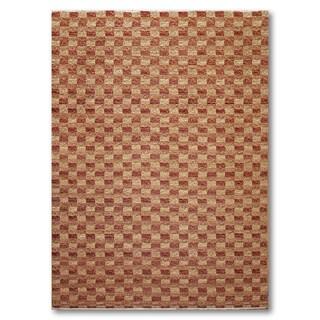 "Samad Designer Hand-Knotted Oriental Pile Area Rug (5'11""x8'11"") - 5'11"" x 8'11"""