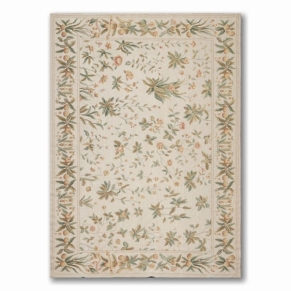Shop Costikyan Country Cottage French Needlepoint Area Rug Multi