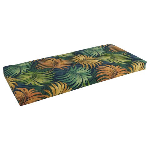Blazing Needles 40-inch All-Weather Bench Cushion