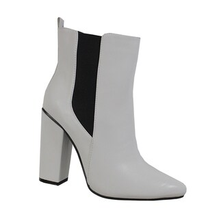 Yoki-Safah-12 Pointed toe Booties