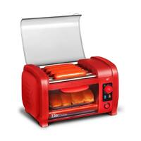 Elite EHD-051R Hot Dog Roller and Toaster Oven, Red