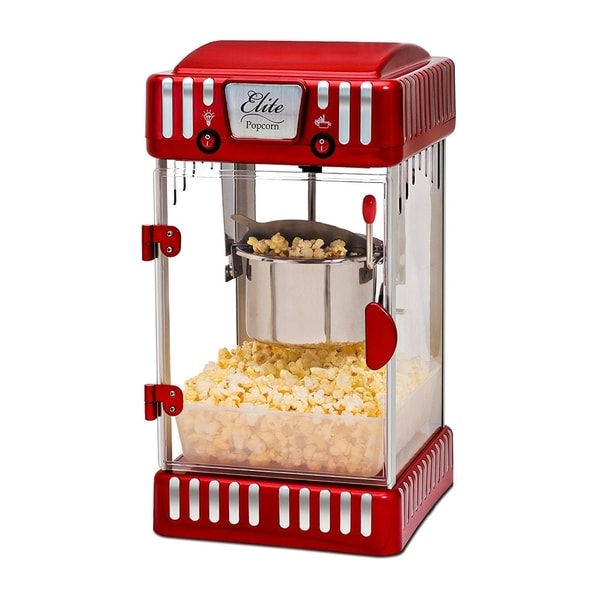 Elite EPM-250 Tabletop Kettle Popcorn Popper Machine. Opens flyout.