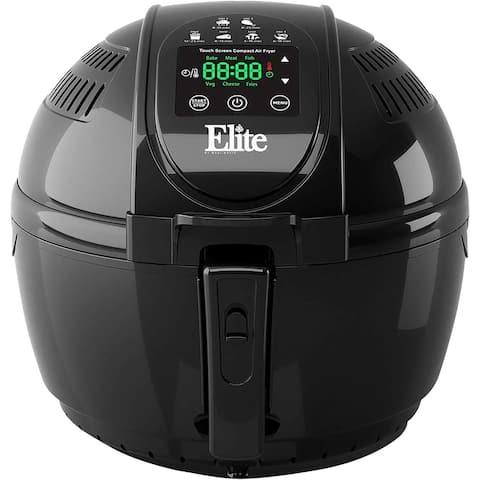 Elite EAF-2500D 3.5-Quart Dual Layer Digital Air Fryer