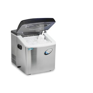 Elite MIM-88 Mr. Freeze Portable Ice Maker, Stainless Steel