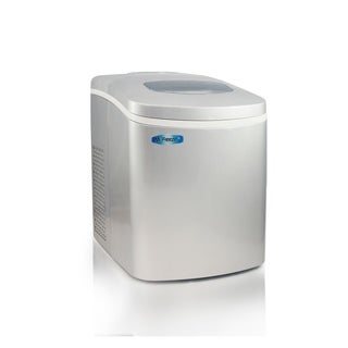 Elite MIM-18SI Mr. Freeze Portable Ice Maker, Silver