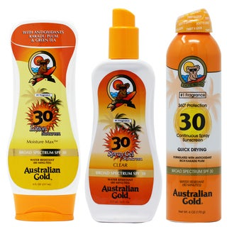 Australian Gold SPF 30 Lotion 3-piece Set