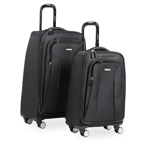 2ff970311 Samsonite Hyperspace 21-inch and 26-inch 2-piece Expandable Spinner Luggage  Set