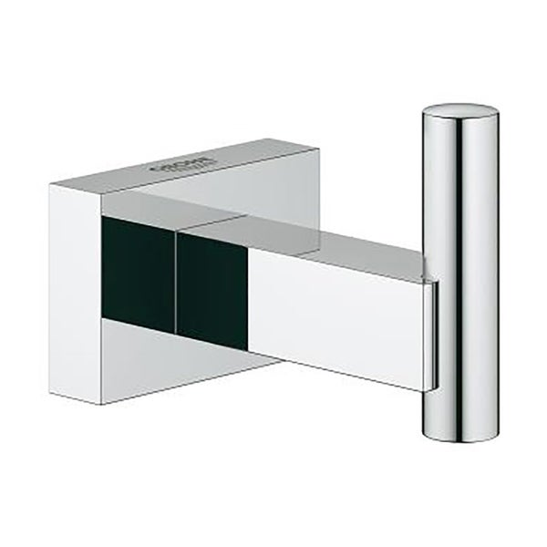 Grohe Essentials Cube Robe Hook 40511001 Chrome