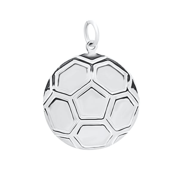 aa0ea9068 Shop Sterling Silver Soccer Charms - Free Shipping On Orders Over ...